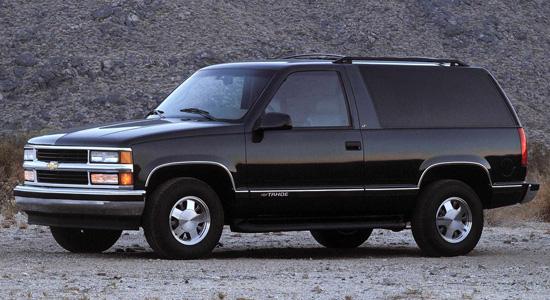 трёхдверный Chevrolet Tahoe 1-го поколения