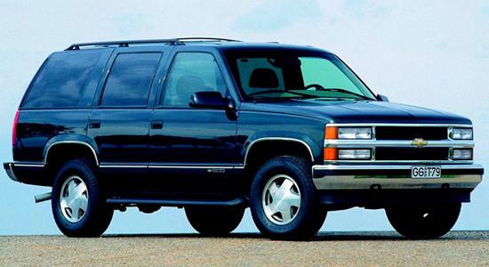 Chevrolet Tahoe 1 (1995-2000) на IronHorse.ru ©