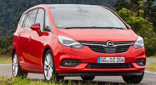 Opel Zafira C (2019-2020) на IronHorse.ru ©