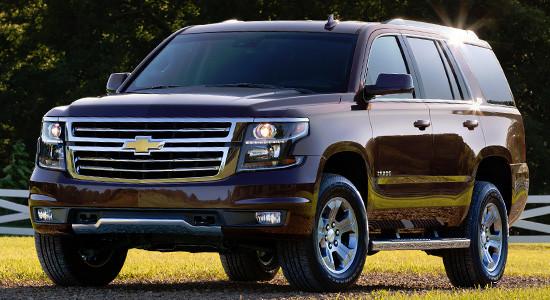 Chevrolet Tahoe 4 (2014-2020) на IronHorse.ru ©