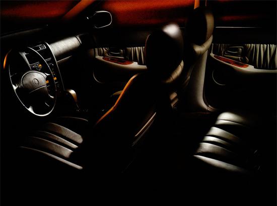 интерьер салона Lexus GS S140
