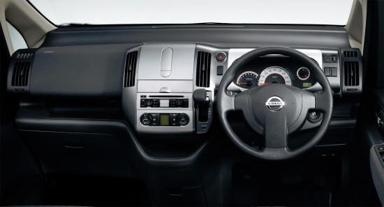 интерьер Nissan Serena C25