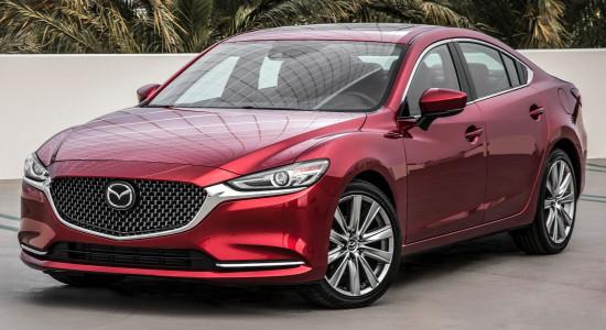 Mazda 6 Sedan GJ 2018