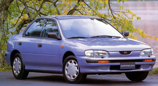 Subaru Impreza 1 (1993-2000) на IronHorse.ru ©