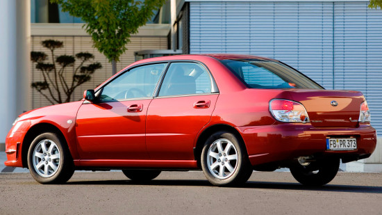 Subaru Impreza II GD (Sedan)