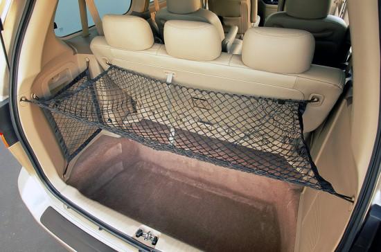 багажное отделение Honda Odyssey II