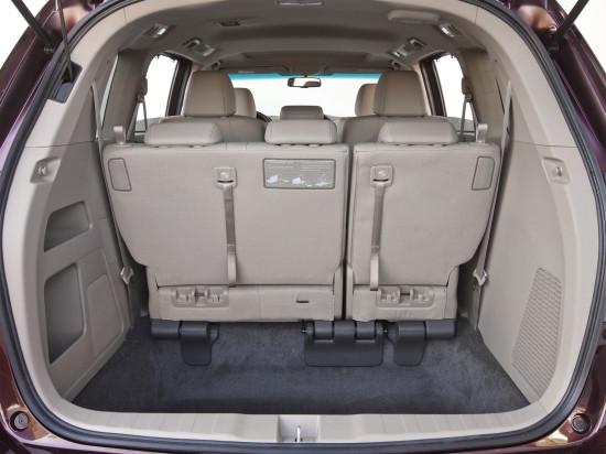 багажное отделение Хонда Одиссей 4