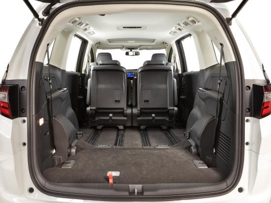 багажное отделение Honda Odyssey 5