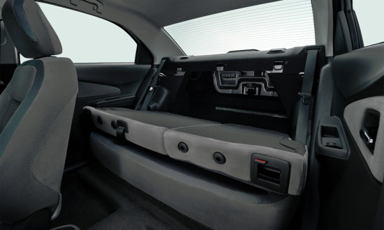 багажное отделение Ravon R4