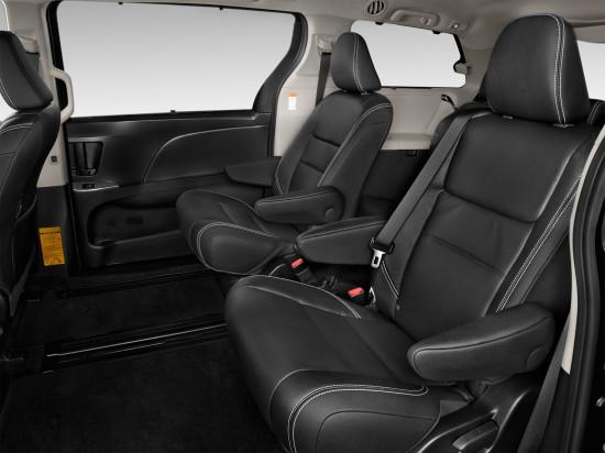 интерьер салона Toyota Sienna III