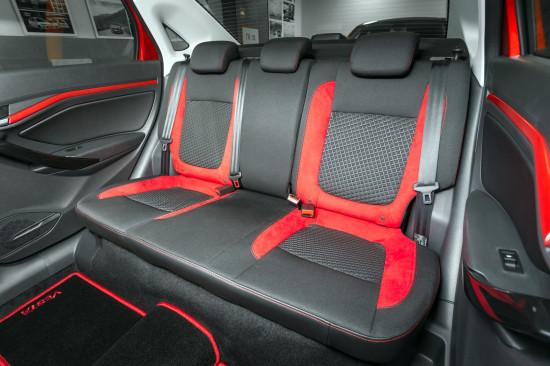 в салоне Lada Vesta 50 Anniversary