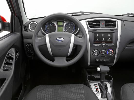 передняя панель и центральная консоль Datsun mi-DO