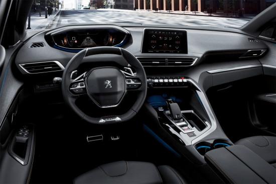 интерьер салона Peugeot 5008 GT