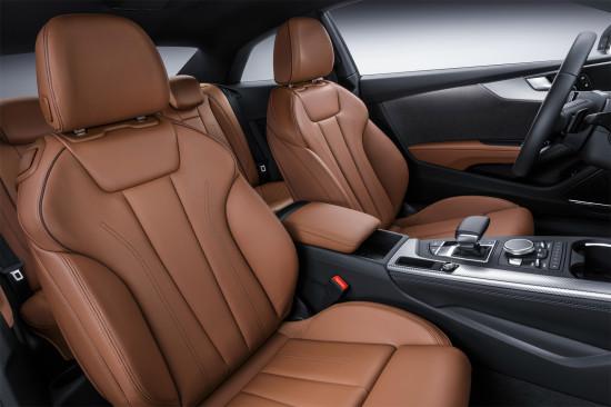 передние кресла Audi A5 Coupe II