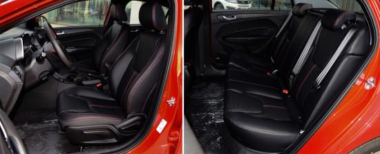 передние кресла и задний диван Chery Arrizo 5