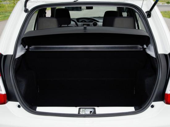 багажное отделение пятидверного Тойоты Этиоса