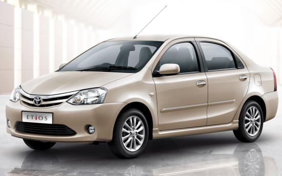 седан Тойота Этиос 2010-2013