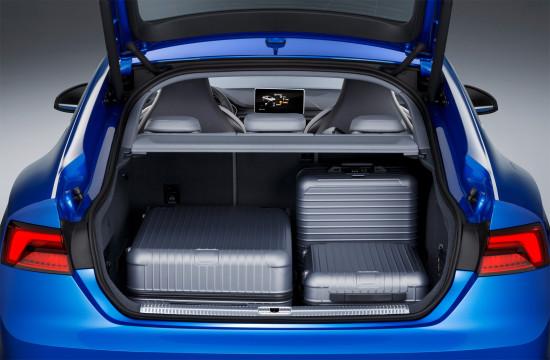 багажное отделение Audi S5 Sportback 2-го поколения