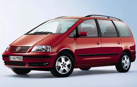 Volkswagen Sharan 7M 2000-2003