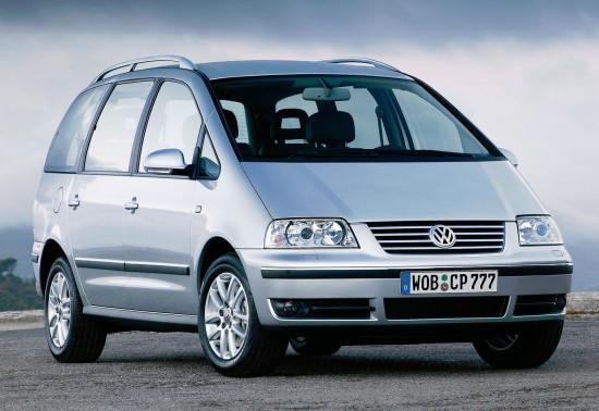 Volkswagen Sharan 7M 2004-2010
