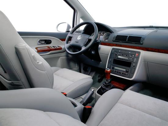 интерьер салона VW Sharan 1-го поколения