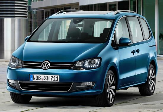 Volkswagen Sharan 2016-2017