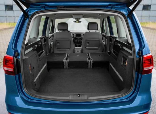 багажное отделение Volkswagen Sharan (7N)