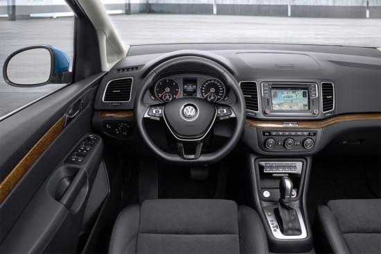 интерьер VW Sharan 7N