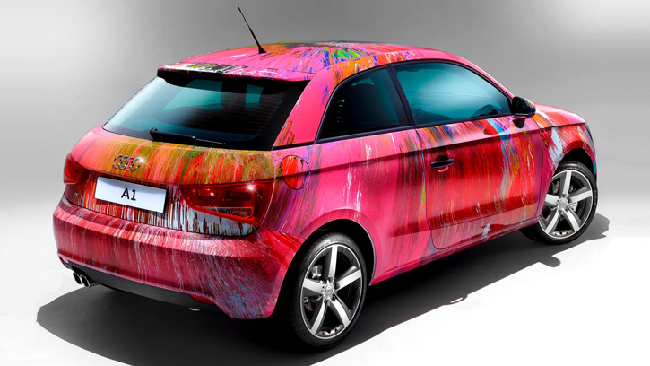Audi A1 Art Car by Damien Hirst