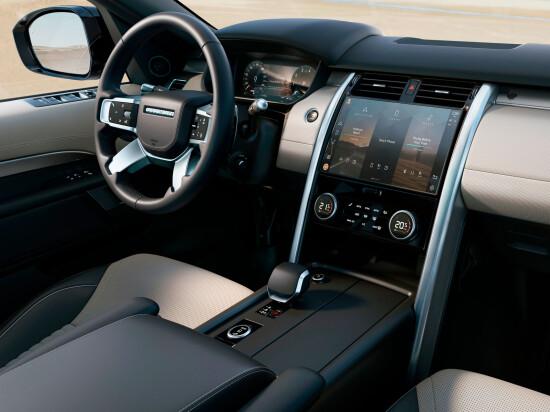 передняя панель и центральная консоль Land Rover Discovery 5 (2021-2022)