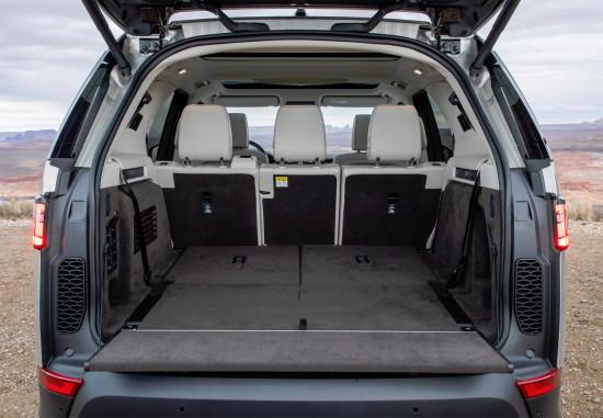 багажное отделение Land Rover Discovery 5