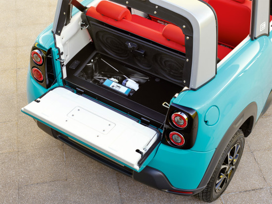 багажник электромобиля E-Mehari