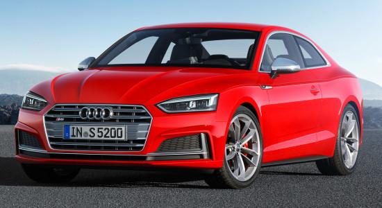 Audi S5 Coupe (2017-2018) на IronHorse.ru ©