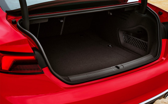 багажное отделение S5 II Coupe
