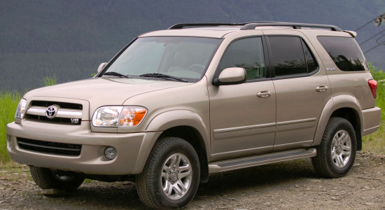 Toyota Sequoia I (2000-2007) на IronHorse.ru ©
