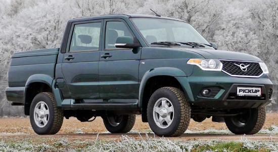 УАЗ Pickup (2017-2018) на IronHorse.ru ©