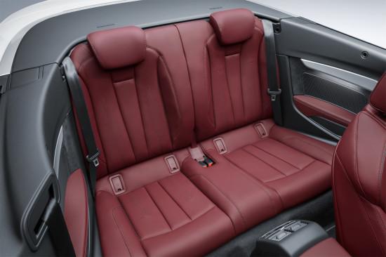 в салоне Audi A5 II Cabriolet