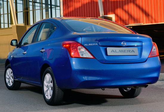 Nissan Almera (N17)