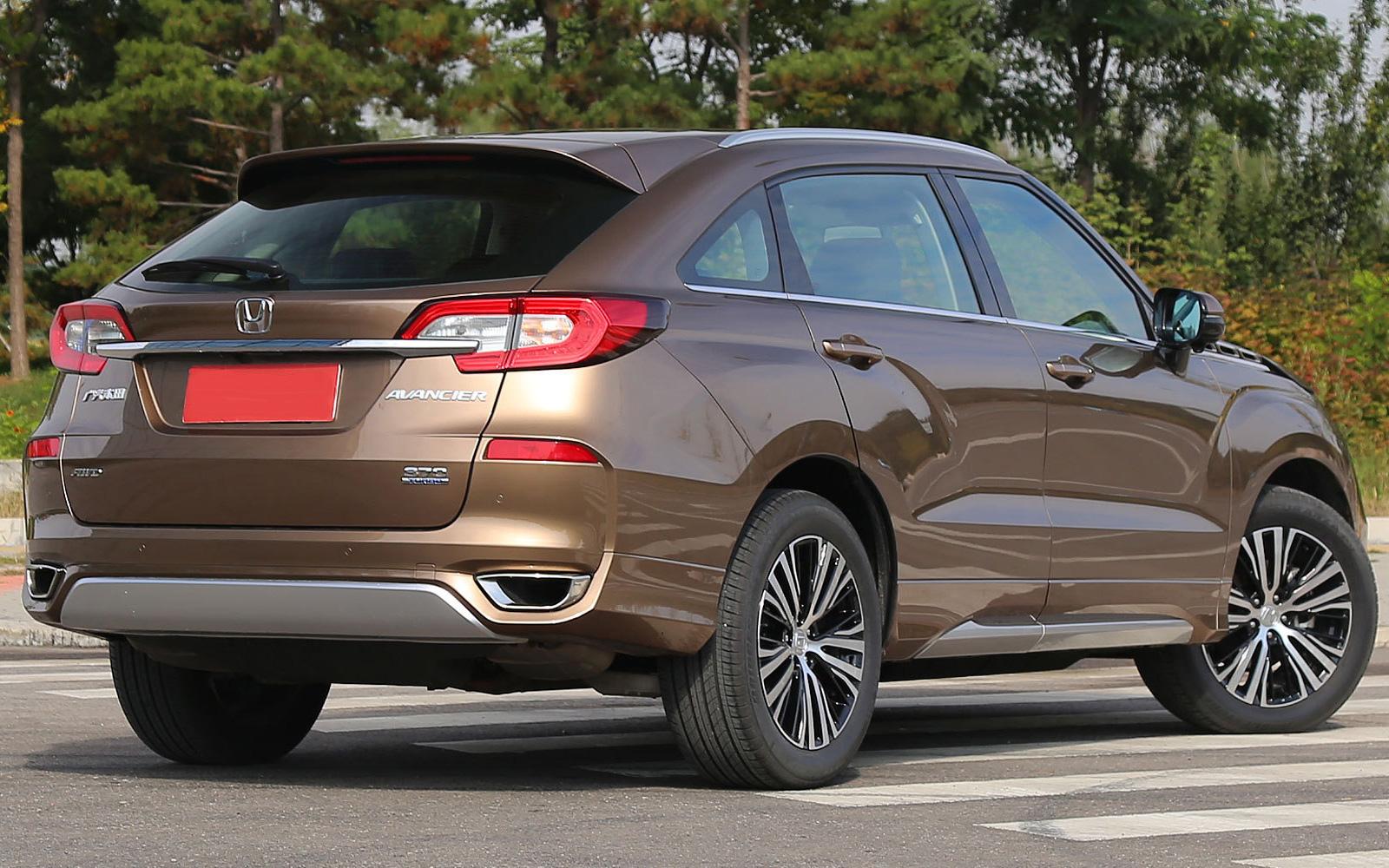 Honda Avancier (2017-2018) цена и характеристики, фотографии и обзор