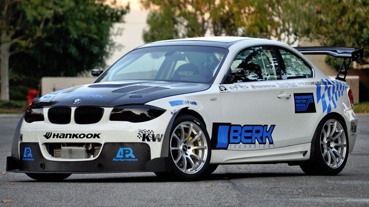 Berk Technology BMW 135i Coupe (E82) '2011