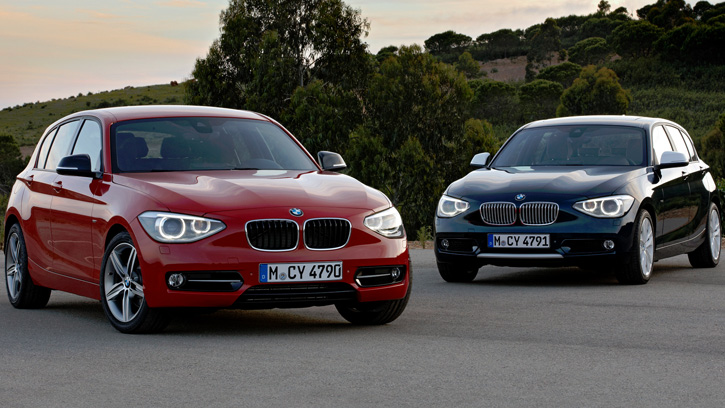 BMW 1 Series 5-door '2011