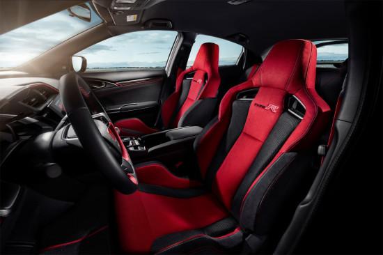 интерьер салона Honda Civic Type R 5