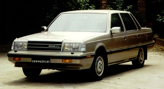 Hyundai Grandeur 1 (1986-1992) на IronHorse.ru ©