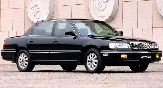 Hyundai Grandeur 2 (1992-1998) на IronHorse.ru ©