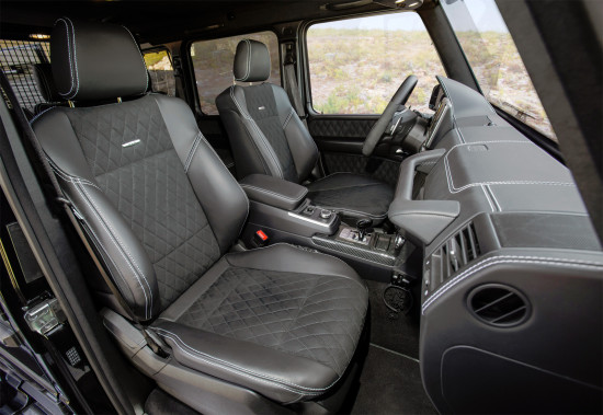в салоне Mercedes-Benz G-Class 4x4²