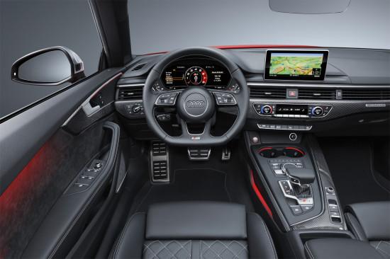 интерьер Ауди S5 Кабриолет (2-е поколение)