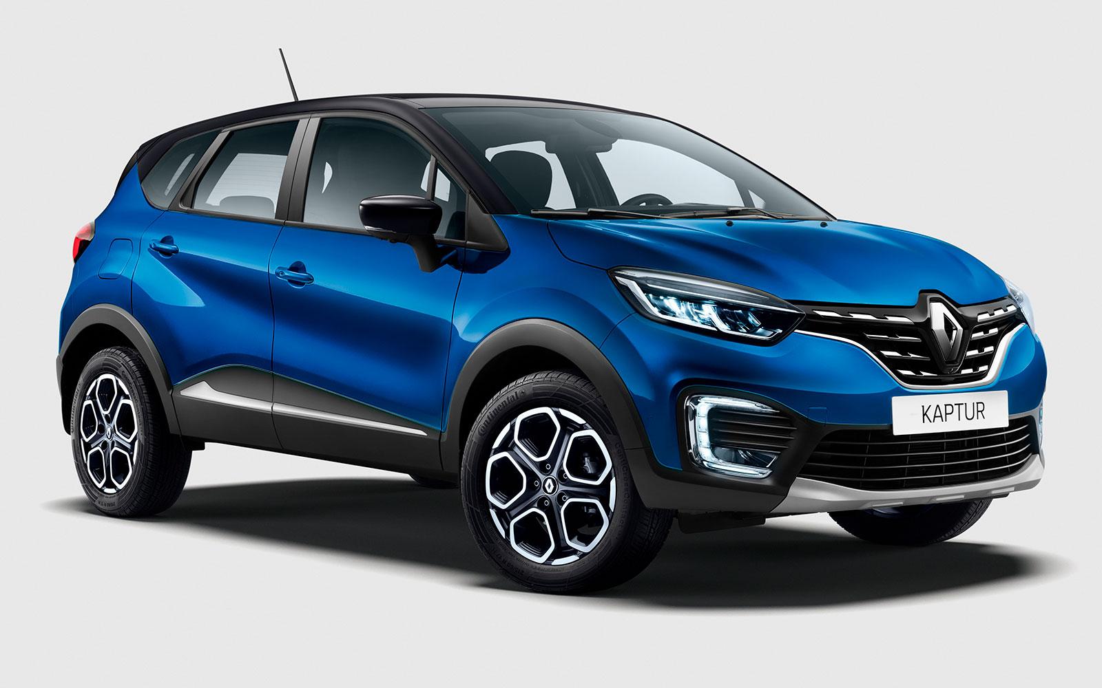 Renault Kaptur (2020-2021) цена и характеристики, фотографии и обзор