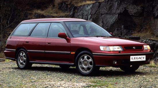 универсал Subaru Legacy 1 Station Wagon
