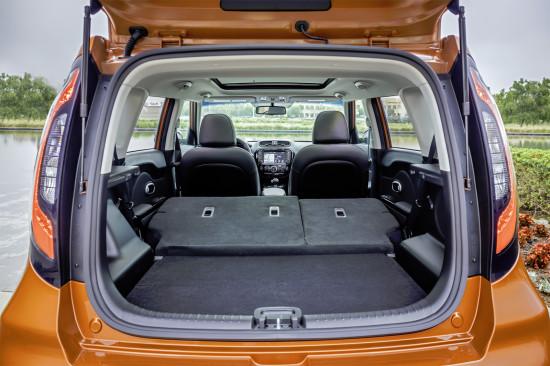 багажник Kia Soul GT