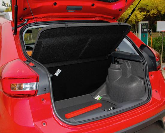багажное отделение Chery Tiggo 2 (3 X)